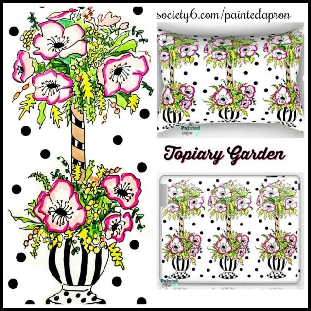 topiary garden S6 items
