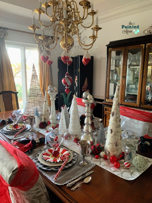 Christmas Magic in the dining room