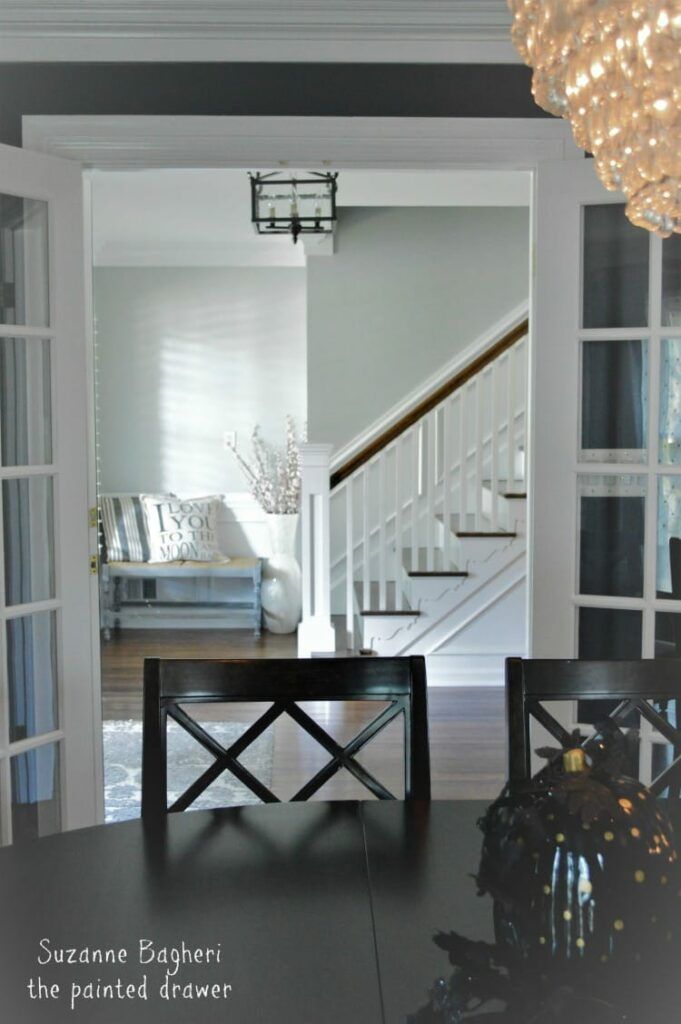 Christins Farmhouse Glam Foyer Makeover
