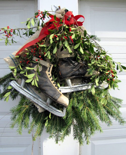 Easy outdoor holiday decorations the painted home by