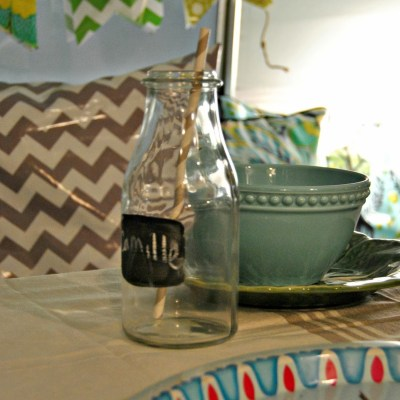 { Sneak peek of the Crafty Camper's Interior }