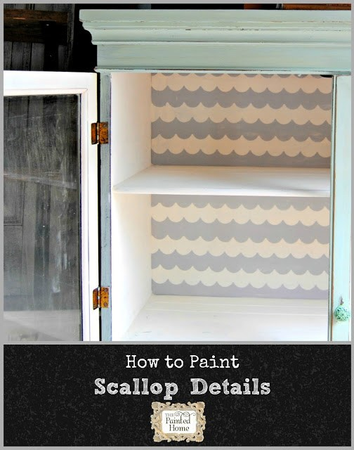 http://www.thepaintedhome.com/2015/07/how-to-painted-scallop-details.html