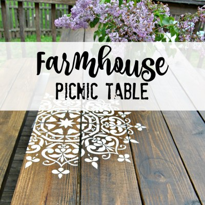 Farmhouse Picnic Table