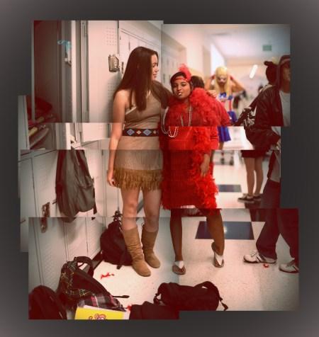 """Lomo Pocahontas meets Flapper"""