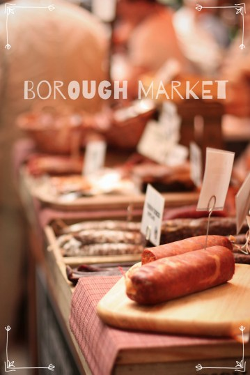 Next stop: Borough Market!