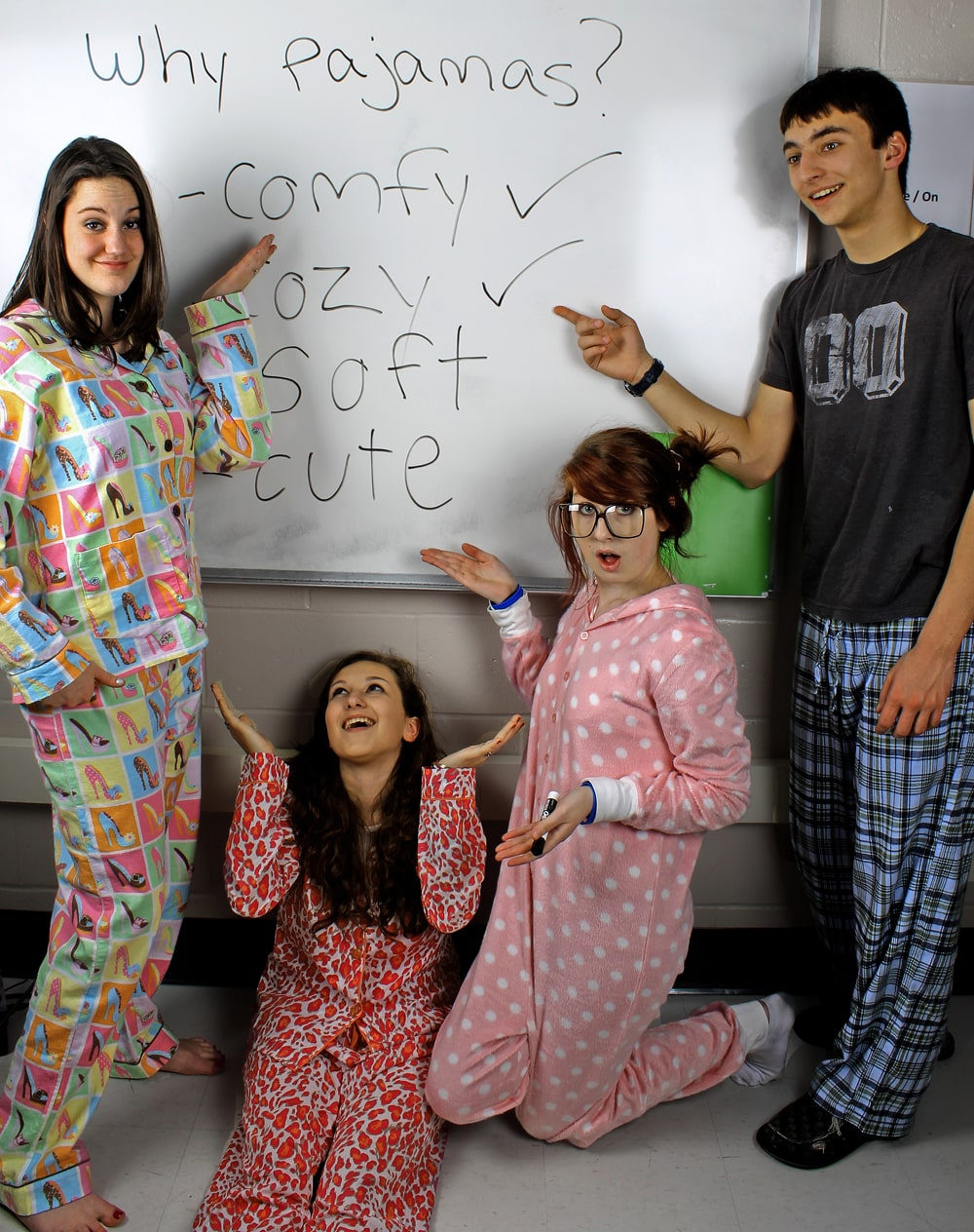 Pajamas At School The Pajama Company Blog