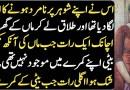 Biwi ka Shohar Par Namard Honay Ka Ilzam – Urdu Moral Story