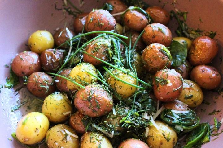thanksgiving - potatoes