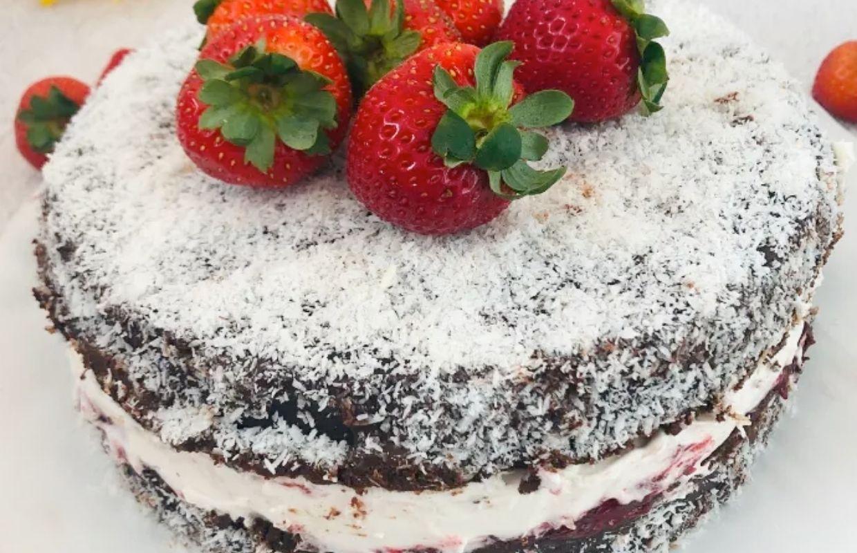 Paleo Lamington Cake