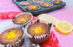 Keto Lemon Vanilla Muffins