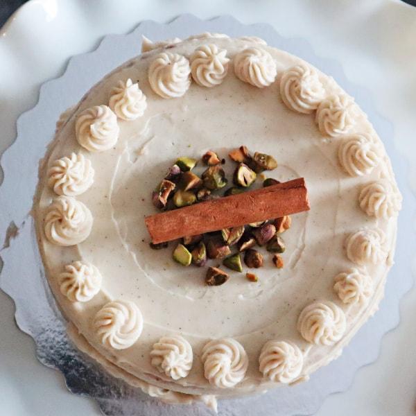 Paleo Vanilla Chai Cake