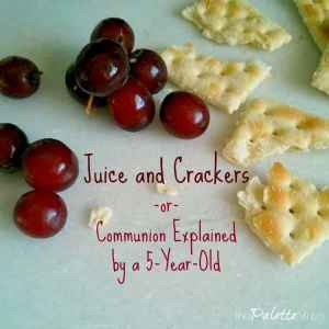 Juice and Crackers