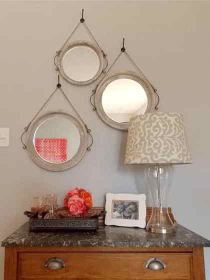 Dresser with Mirrors