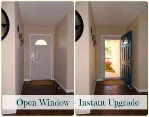 Open Window = Instant Upgrade