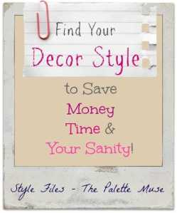 Know your decor style to save time, money, and sanity