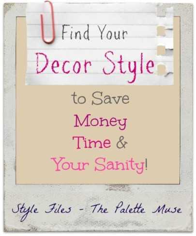 Know your style to save time, money, and sanity