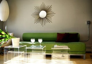 A Living Room in Modern Style