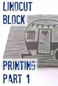 Linocut Block Printing Part 1: Drawing & Carving