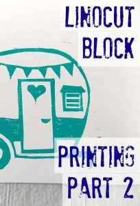 Linocut Block Printing Part 2