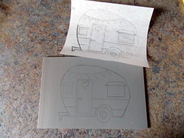 Drawing On Lino