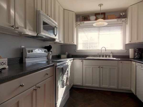 Kitchen Cabinet Makeover Reveal