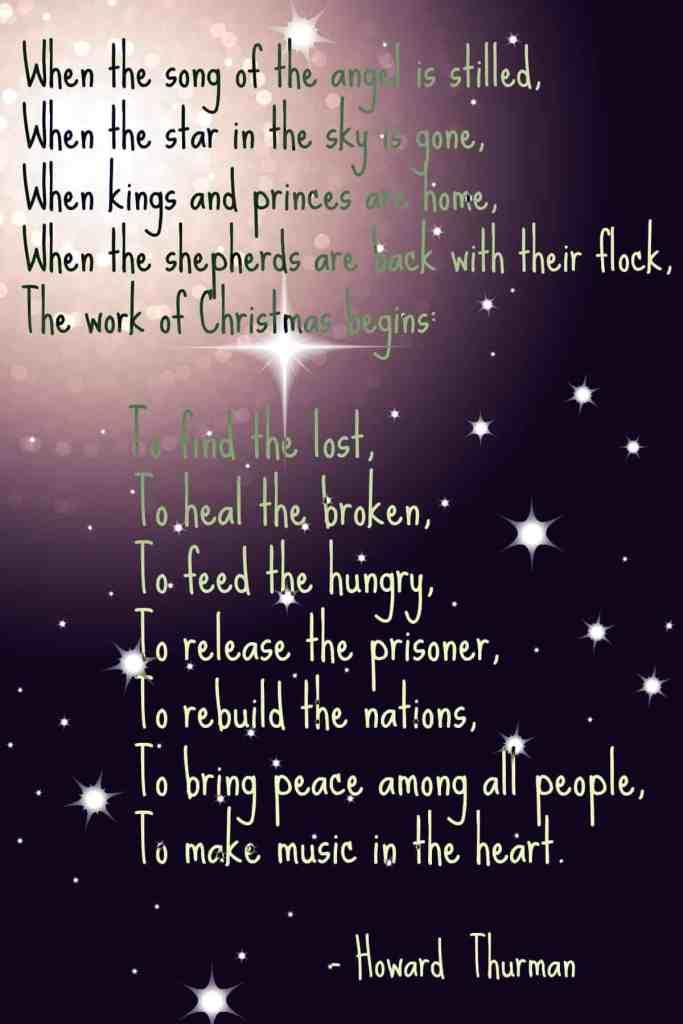 Work of Christmas