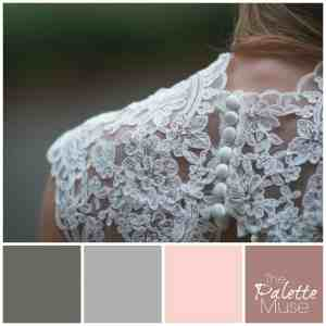 This palette's greens and pinks offer a fresh new twist on pastels. ThePaletteMuse.com