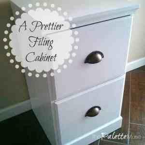 A Prettier Filing Cabinet