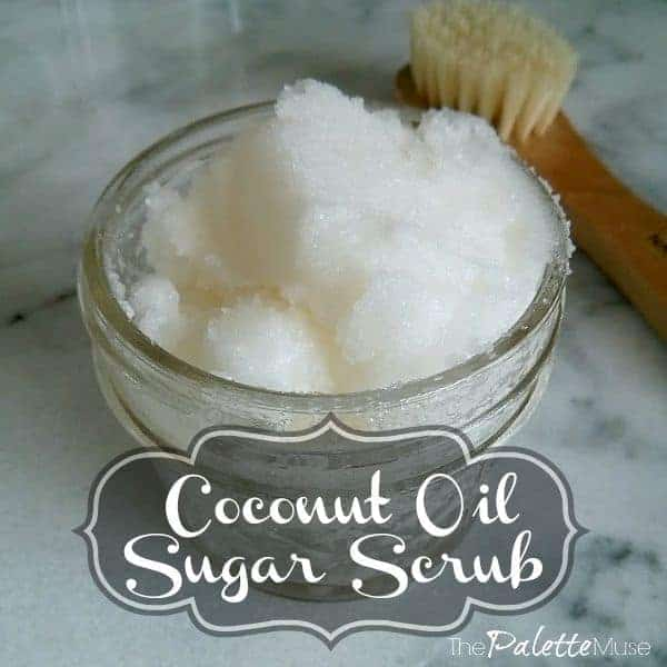 Make Your Own Coconut Oil Sugar Scrub