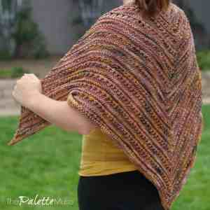 Knit Your Own Fall Shawl with SKEINO