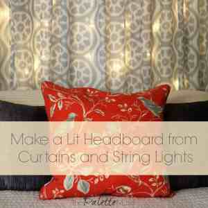 Dreamy Light-up Headboard