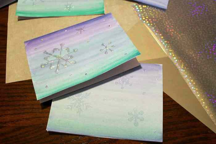 Snowflake-cards-before-after-foil