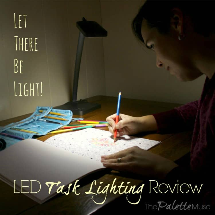 #OakLeaf LED Dimmable Desk Lamp Review