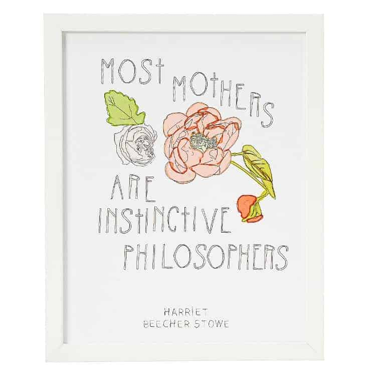 Mothers are Philosophers
