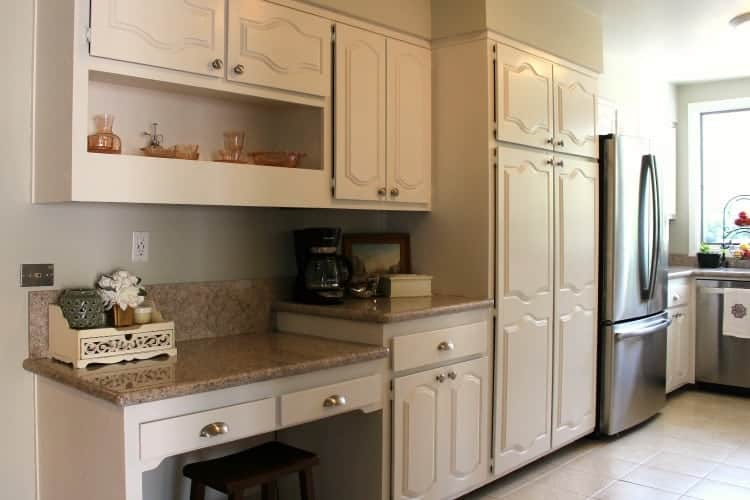 ... Finished Painted Kitchen Cabinets 3 ...