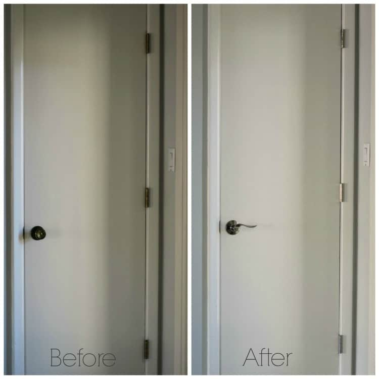 Easy Interior Door Makeover With Schlage The Palette Muse