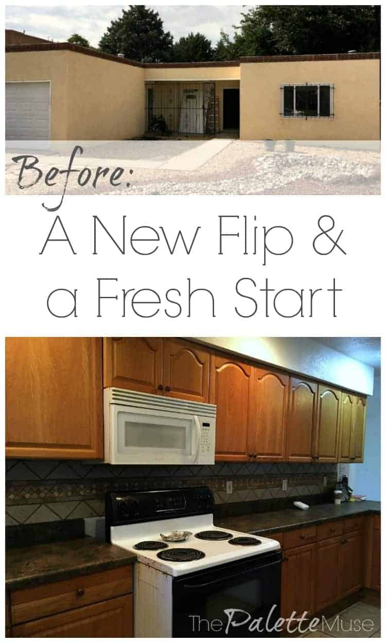 This flip house has good bones but just needs a little love. Check out the before pics and how we plan to transform it into a sweet home.