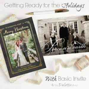 Get Ready for the Holidays with Basic Invite