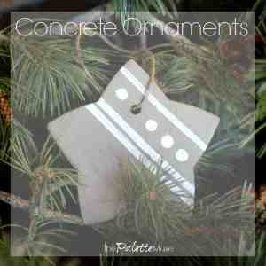 Easy Concrete Ornaments You Can DIY in a Weekend