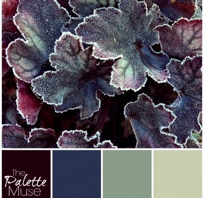 Frosted Leaves Palette