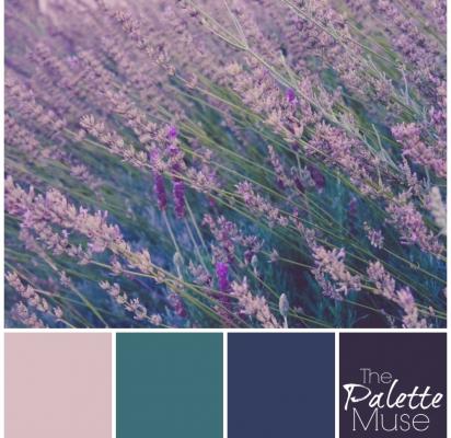 Lavender-Palette