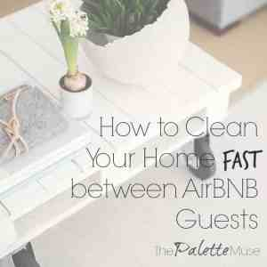 Use this checklist to speed-clean your home