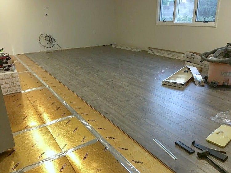 Pergo Waterproof Laminate Flooring and Pergo Gold underlayment