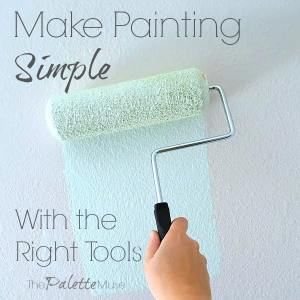 Having the right tools makes painting easier. Here's what I recommend. #painting #paintingtips #howtopaint