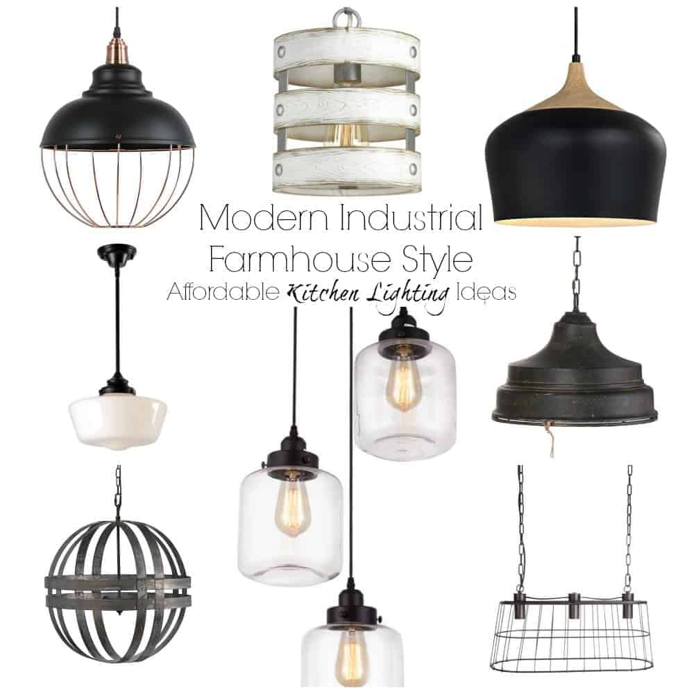 Affordable Kitchen Lighting Options - The Palette Muse