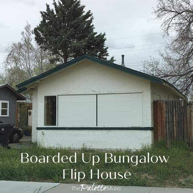Boarded Up Bungalow Flip House