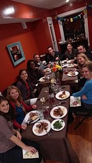 Ocean's Eleven dinner guests