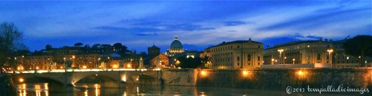 Rome at Twilight | ©Tom Palladio Images