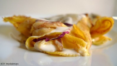What's Burning: Crespelle con Radicchio e Morlacco | ©Tom Palladio Images