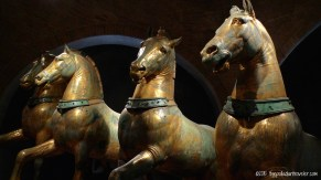 The 4 Bronze Horses of St. Mark's Cathedral